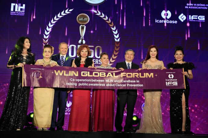 các thành viên trong WLIN Global sẽ trở thành những đại sứ để truyền đi những thông điệp tích cực cho cộng đồng.