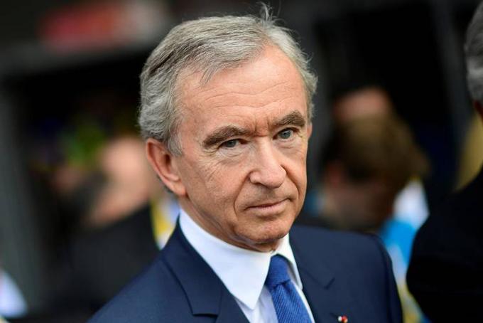 Tỷ phú giàu nhất châu Âu Bernard Arnault. Ảnh: Bloomberg.