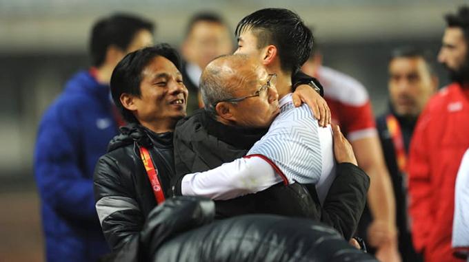 Theo HLV Park bí quyết thành công của Việt Nam là nhờ có sức mạnh về tinh thần.
