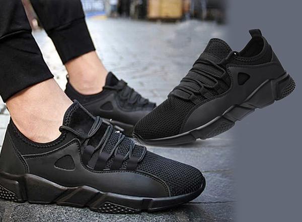 Đôi giày thể thao sneaker nam Passo G180 cá tính mạnh mẽ có giá 149.000  đồng so với giá gốc 600.000 đồng. Chất liệu vải cao cấp mềm mại ôm sát  chân, phần đế cao su tạo độ bám vững chãi. Màu đen dễ phối với nhiều  trang phục, chỉ cần phối thêm phụ kiện là có thể dùng đi làm hay đi chơi  đều hợp.