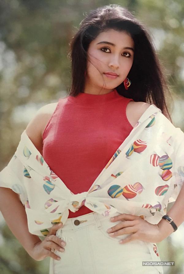 Vua ảnh lịch tiết lộ ảnh Việt Trinh thập niên 90 - 9