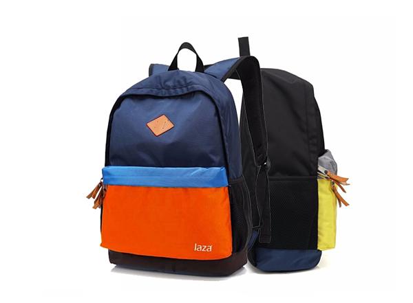 Ba lô nam Hàn Quốc Laza BL302 sử dụng các mảng màu color-block trang trí  bề mặt tạo cá tính nổi bật. Sản phẩm thích hợp cho các dịp đi  chơi, đi học, dễ phối với trang phục quần jean, áo thun hoặc áo phông  tươi trẻ phá cách. Giá 149.000 đồng.