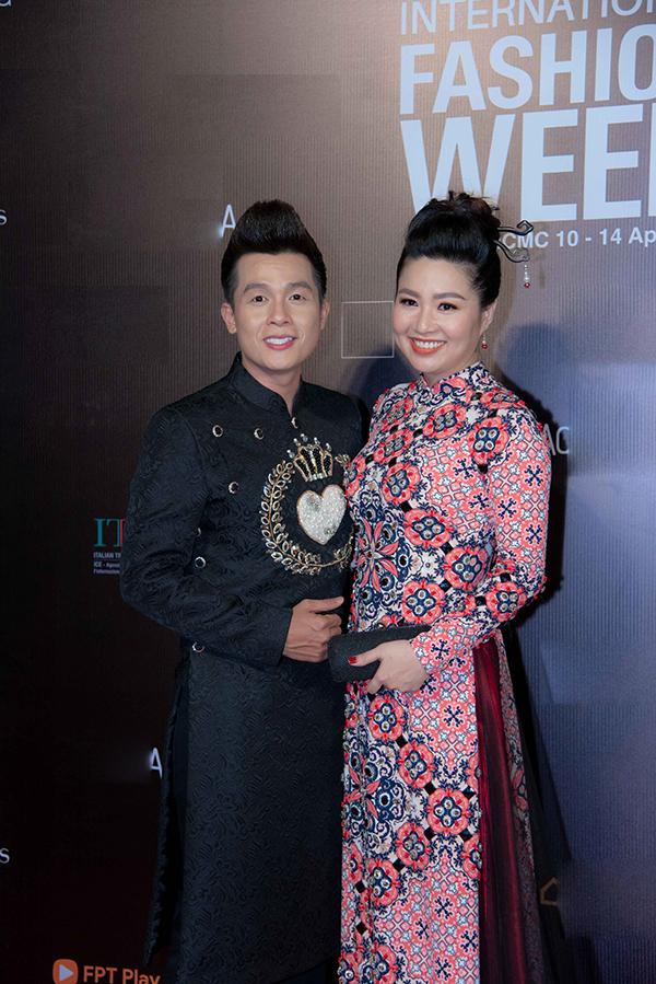 Hoà Hiệp và Lê Khánh.
