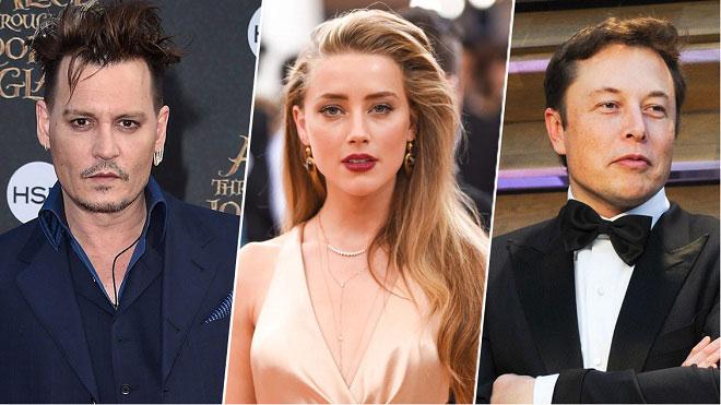 Johnny Depp tin rằng Amber Heard lừa dối anh, dan díu với tỷ phú công nghệ Elon Musk vào năm 2015.