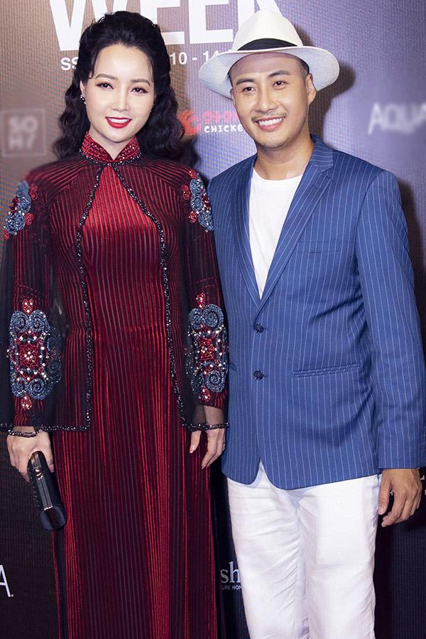 Diễn viên Mai Thu Huyền có mối quan hệ thân thiết với Bảo Bảo.