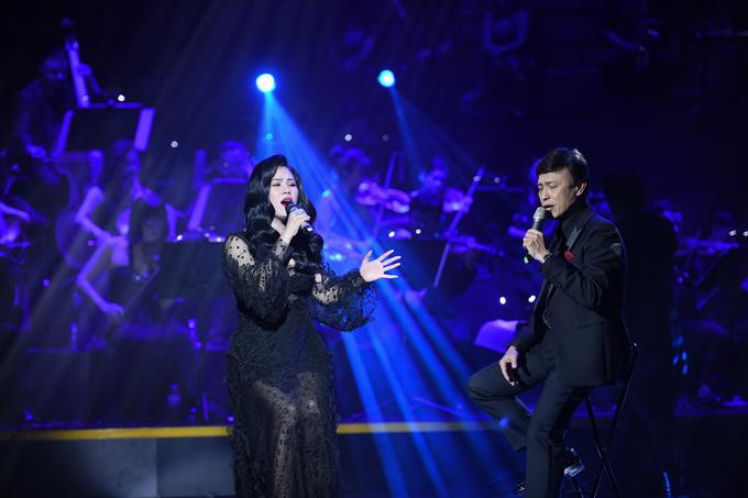 Giám khảo The Voicehoà giọng với ca sĩ Ngọc Châm trong nhạc phẩm Bài không tên số 03, Bài không tên cuối cùng. Nam danh ca đề nghị anhngồi ghế hát cùng cô để cho cân đối về chiều cao.