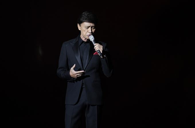 Ở phần solo, Tuấn Ngọc hát Bài không tên số 08, ca khúc anh yêu thích nhất của nhạc sĩ Vũ Thành An.