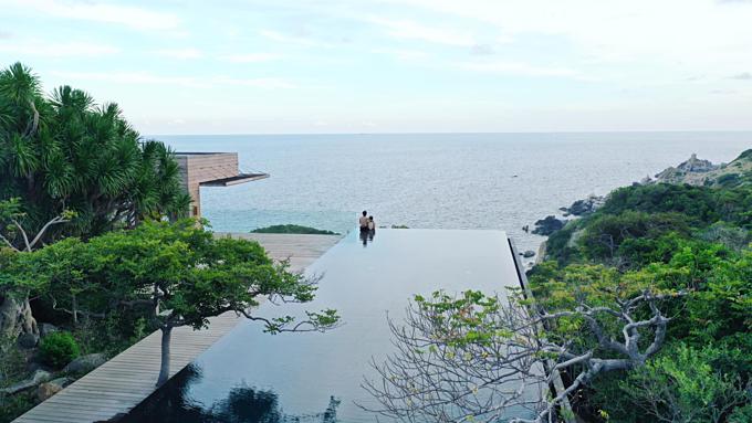 Cường Đôla đang có những ngày nghỉ lãng mạn bên cạnh vợ sắp cưới Đàm Thu Trang.