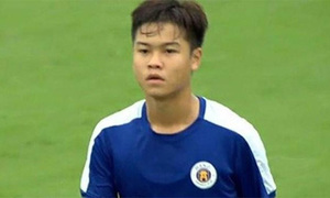 Cầu thủ U17 Hà Nội đấm rách mặt đối thủ người Trung Quốc