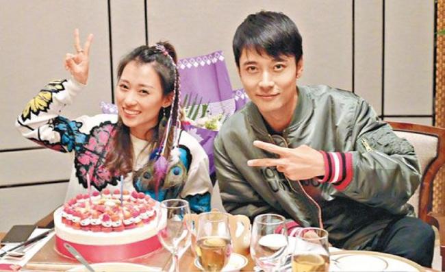 Trương Đan Phong và quản lý Tất Oánh.