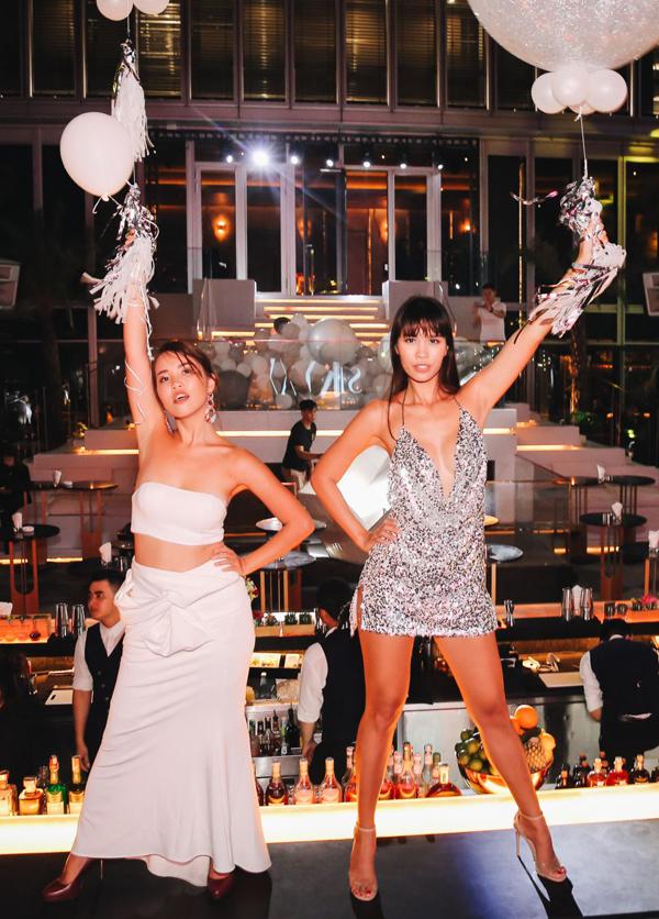 Hà Anh và em gái mở tiệc sinh nhật chung - 5