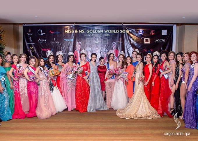 Miss Golden World 2018 là sân chơi nhan sắc cho cộng đồng người Việt trên toàn thế giới tổ chứctại Mỹ. Cuộc thithu hút các thí sinh ở nhiều châu lục,quy tụ nhữngngười đẹp tiêu biểu của các nướctrên thế giới nhưViệt Nam, Nhật Bản, Hàn Quốc, Philippines,Italy, Anh quốc, Mỹ, Venezuela. Họ có thể là người mẫu thời trang, stylist hay doanh nhân, nhưng đều hội tụ về đây để cùngtôn vinh vẻ đẹpnhân ái, thông minh, sự thành đạt trong cuộc sống.