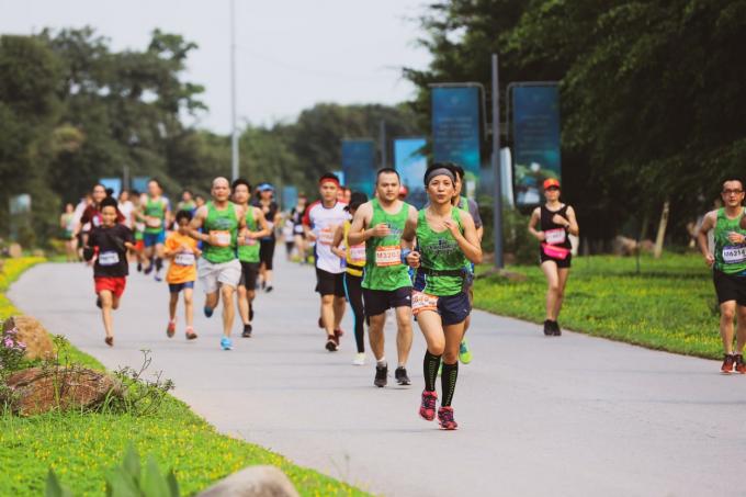 Giải chạy vừa là một sự kiện thể thao đỉnh cao và cũng là một lựa chọn thú vị cho cả gia đình trong kỳ nghỉ lễ năm nay.