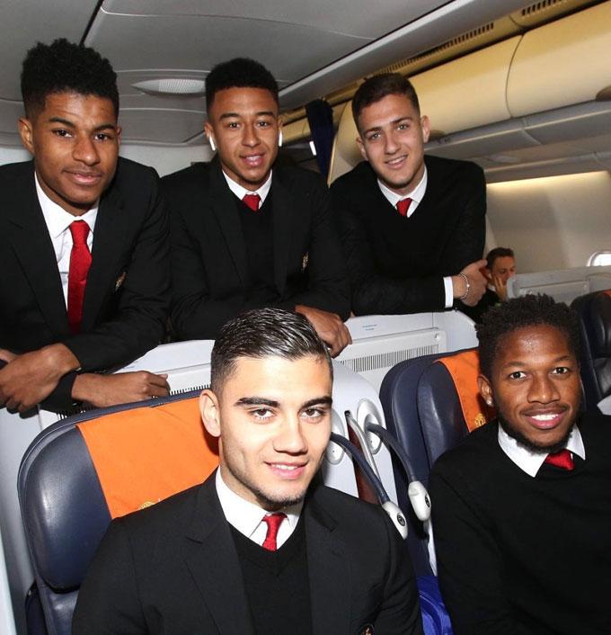 Rashford, Lingard, Fred cùng các đồng đội hy vọng sẽ tạo nên bất ngờ một lần nữa sau trận thắng