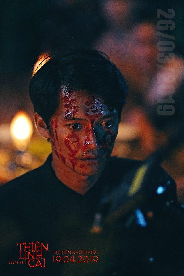 Quang Tuấn vào vai thầy Huỳnh - kẻ sát nhân trong phim.