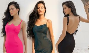 Như Vân gợi ý chọn váy tôn đường cong