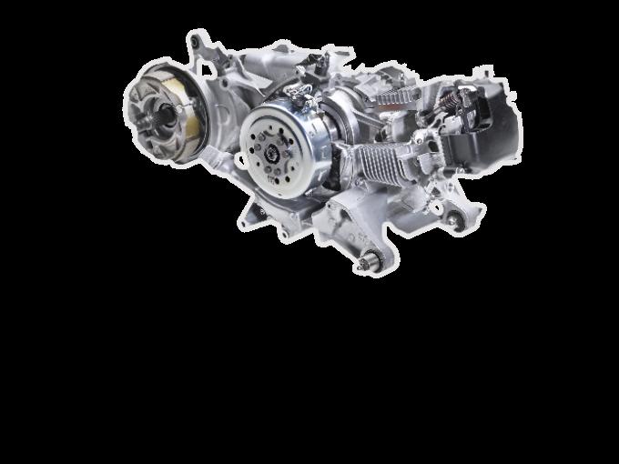 FreeGo sở hữu động cơ Blue Core 125cc mạnh mẽ và tiết kiệm nhiên liệu.