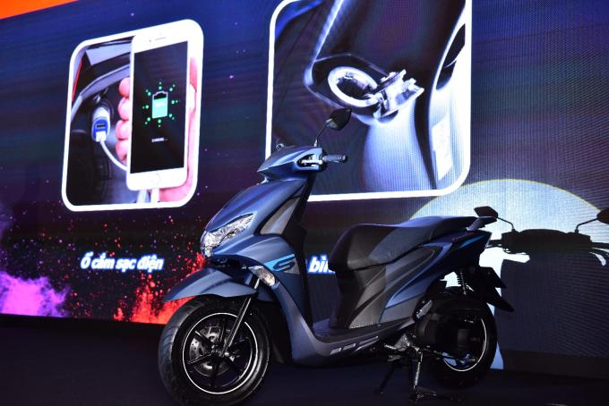 Mẫu xe ga Yamaha FreeGo 125cc ra mắt tại TP HCM ngày 9/4.