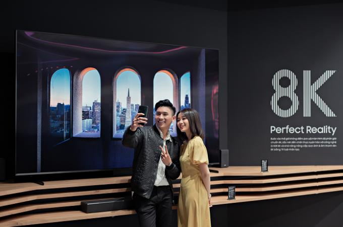 Thử thách dịch chuyển tức thời tại Samsung Showcase thu hút giới trẻ  - 1