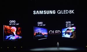TV QLED 8K 2019 của Samsung có giá từ vài trăm triệu đến cả tỷ đồng