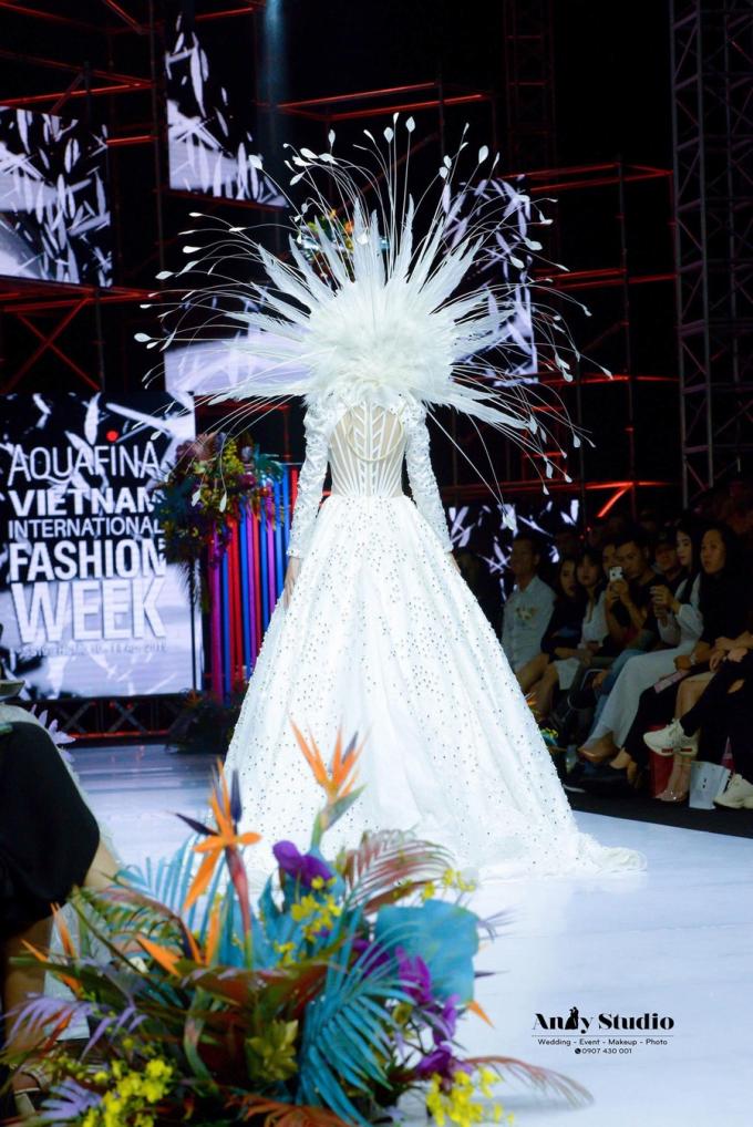 Lejour flower đồng hành cùng Đức Vincie tại Tuần lễ thời trang Việt Nam - 2