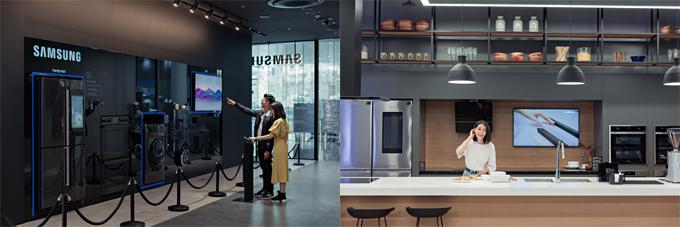Ngoài chất ngất với nhiều góc chụp ảnh đẹp xuất sắc thì Samsung Showcase còn hội tụ nhiều khu trưng bày công nghệ hiện đại bậc nhất, vừa mang tính tiện dụng như khu vực phòng khách và nhà bếp thông minh ấm cúng, cho đến những công nghệ giải trí tối tân như kính VR giúp bạn khám phá thế giới ảo như thật. Đến Samsung Showcase, bạn không chỉ có những góc ảnh đẹp để khoe với bạn bè mà còn được mở rộng tầm mắt với những công nghệ mới nhất của Samsung.