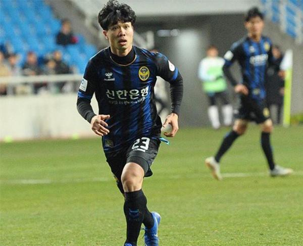 Công Phượng chưa thể có được bàn thắng đầu tiên sau 7 trận được ra sân cho Incheon United trên các đấu trường.