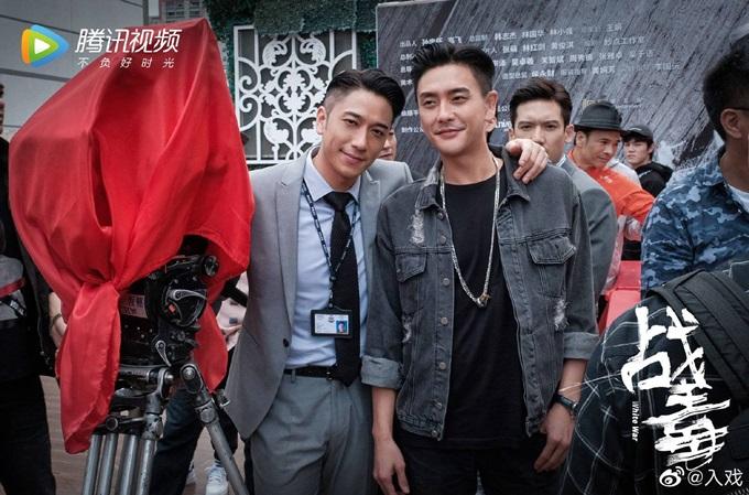 Huỳnh Tông Trạch (phải) và Ngô Trác Hy lần thứ sáu đóng chung với nhau.