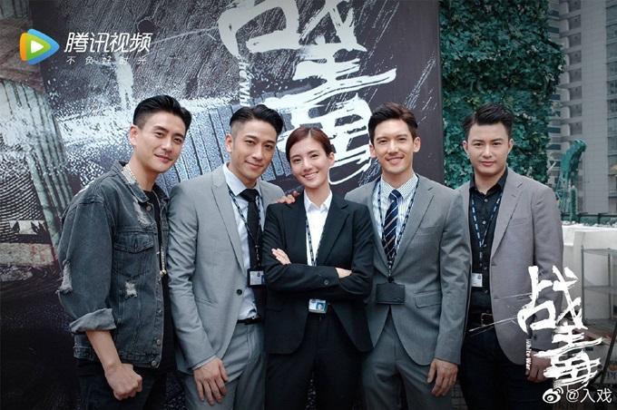 Ngô Thiên Ngữ đóng một vai nữ quan trọng của phim.