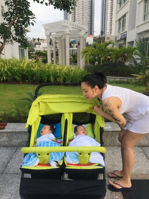 Hai bé Ben và Liam khi mới sinh.