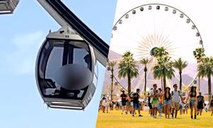 Làm 'chuyện ấy' trên đu quay bằng kính tại lễ hội âm nhạc