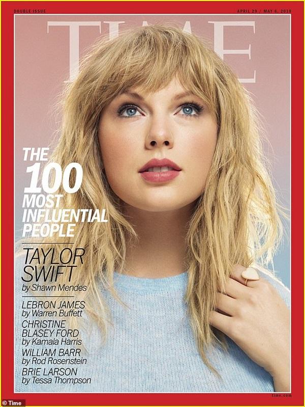Taylor Swift được tạp chí Times tôn vinh.