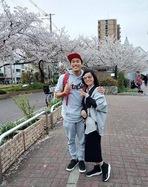 Công viên hoa Osaka hớp hồn Cát Phượng - Kiều Minh Tuấn - 9