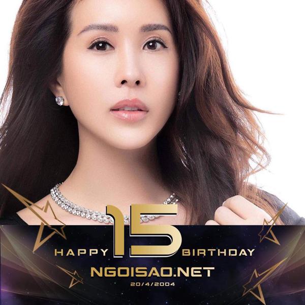 Hoa hậu Thu Hoài đổi avatar để bày tỏ sự ủng hộ của mình dành cho tờ báo.