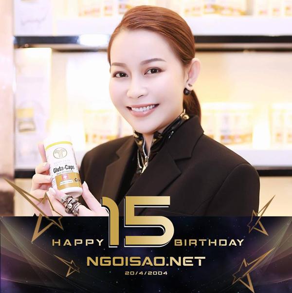 Hoa hậu Hải Dương chúc: Happy birthday my loveNgoisao.net. Cô còn nhắn Hoa hậu Siêu quốc gia Ngọc Châu, người mẫu Võ Cảnh, Minh Trung lấy cô làm chuẩnđể thay avatar.