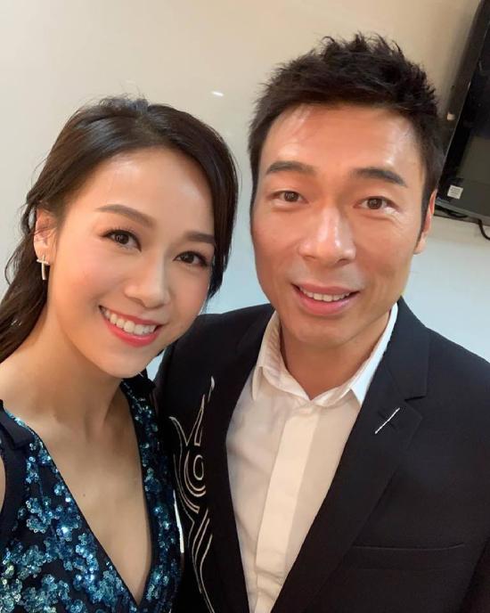 Huỳnh Tâm Dĩnh và Hứa Chí An từng biểu diễn chung trong một đêm nhạc vào năm ngoái.