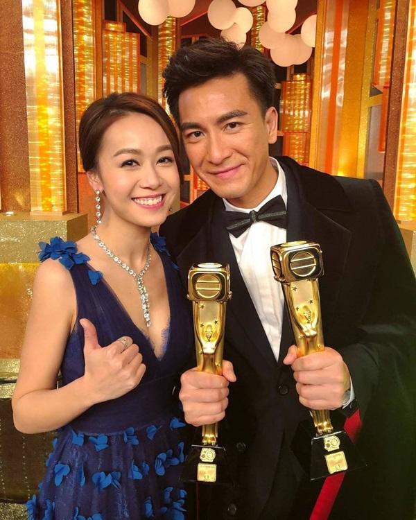 Hoàng Tâm Dĩnh là bạn gái của nam diễn viên Mã Quốc Minh.
