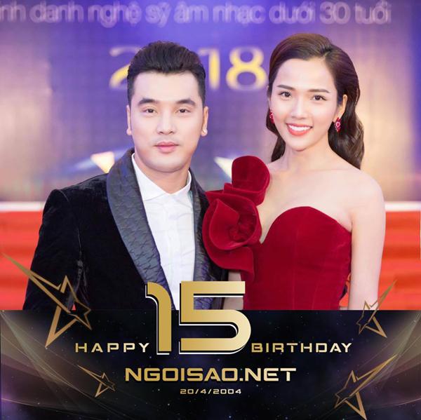 Người đẹp Kim Cương đổi avatar với dòng chữ chúc mừng sinh nhật tờ báo mà cô là độc giả trung thành.