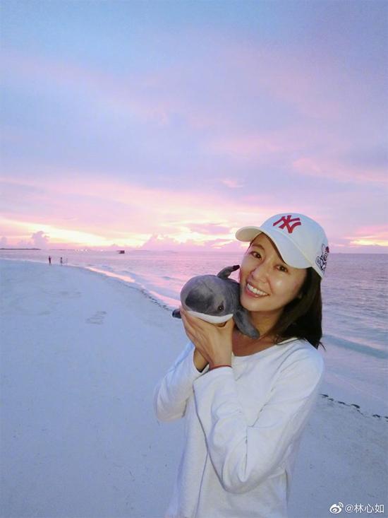 Lâm Tâm Như nghỉ dưỡng ở Maldives - 7