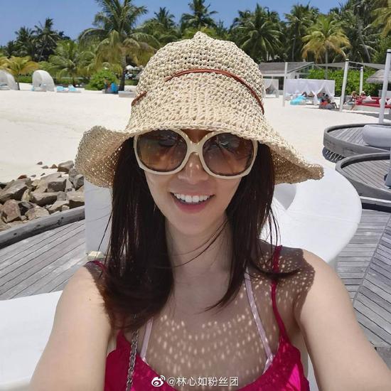 Lâm Tâm Như nghỉ dưỡng ở Maldives - 1