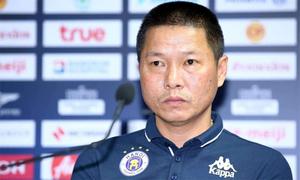 HLV Chu Đình Nghiêm: 'Hà Nội ghi 5 bàn vẫn còn ít'