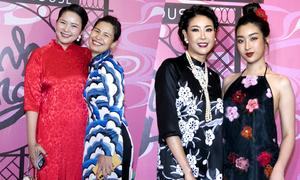 Phan Như Thảo mũm mĩm tới xem show của Thủy Nguyễn