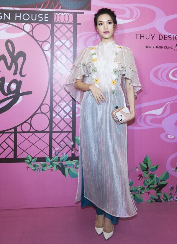 Hoa hậu Thùy Dung.