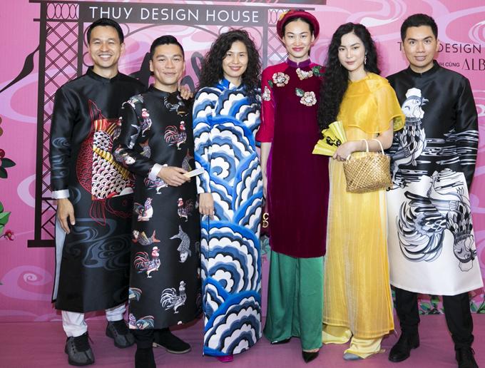 Thủy Nguyễn rất vui khi show diễn cá nhân của cô được đông đảo bạn bè, nghệ sĩ tới ủng hộ.