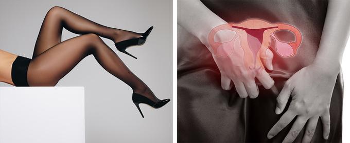 3. Quần tấtMón phụ kiện quen thuộc của phái đẹp thường làm từ chất liệu tổng hợp, gây bí hơi và tạo hiệu ứng nhà kính, gây nhiễm trùng âm đạo. Ngoài ra, những chiếc legging bó chặt, nhiều thành phần nylon còn có tác động tiêu cực đến lưu thông máu.