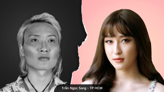 Trần Ngọc Sang, 24 tuổi, TP HCM sinh ra với hình hài nam giới. Từ nhỏ, Sang cảm nhận rõ mình khác biệt, luôn khát khao sống trong hình hài nữ giới.