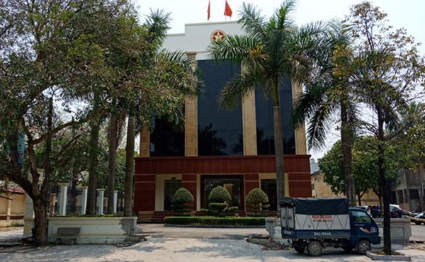 Trụ sở Thanh tra tỉnh Thanh Hoá.