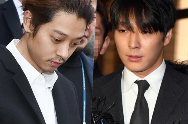 Jung Joon Young và Jonghun là hai trong số 5 người đàn ông cưỡng hiếp tập thể cô gái.