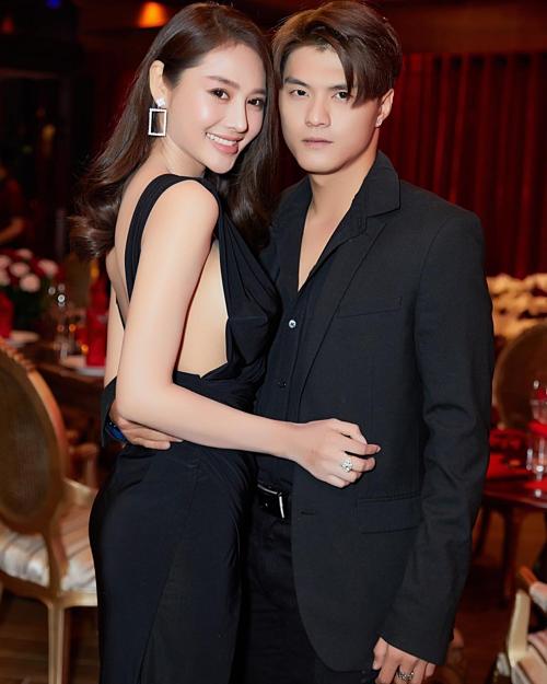 Lâm Vinh Hải hạnh phúc bên tình mới Linh Chi.