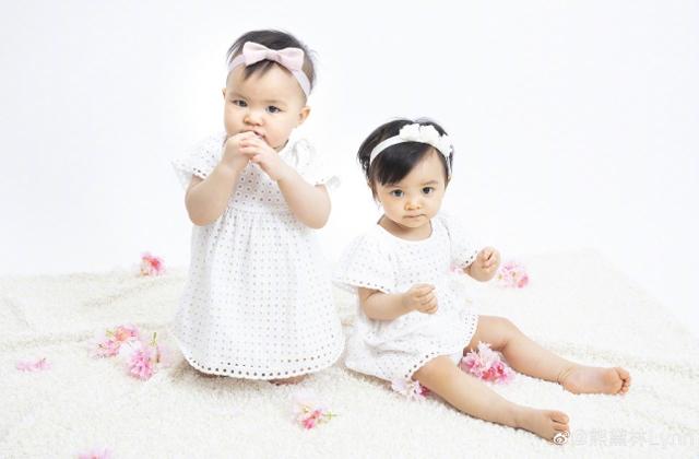 Hai con của người mẫu Hùng Đại Lâm.